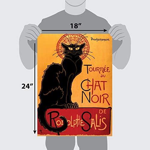 kaki s Toile CafePress Tournee Du Chat Steinlen Sac fourre-tout Noir