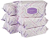 Amazon Elements Baby Wipes, Sensitive, Flip-Top Packs, 480 Count