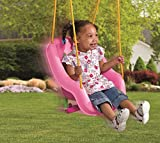 Little Tikes 2-in-1 Snug n Secure Swing, Pink