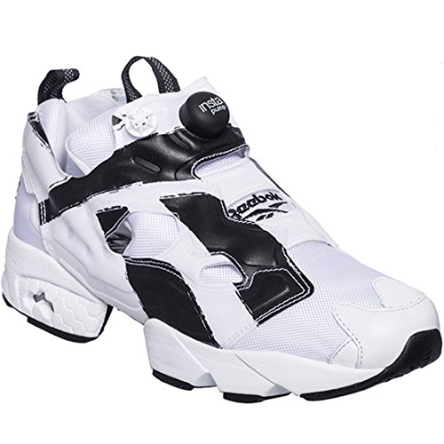 a5b7f9cd08a Reebok Instapump Fury OB Mens (Overbranded) in White Black