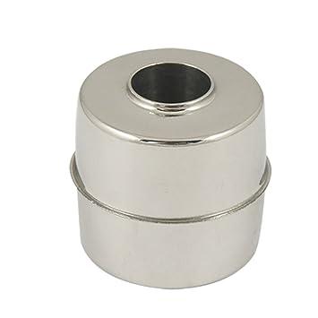Sourcingmap a11051400ux0166 - Nivel de agua sensor magnético de acero inoxidable flotador 24mmx24mmx9.5mm: Amazon.es: Bricolaje y herramientas