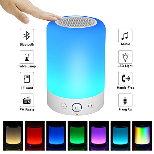 Portable Bluetooth Speakers V4.0 Wireless Speakers Stereo Subwoofer Smart Touch Speakers Color...