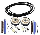 Dryer Repair Kit for Maytag, 312959, 306508, 12001541 Belt Rollers