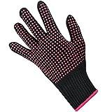 no burn flat iron - Heat Resistant Glove for Hair Styling,VITI Anti-Slip Professional Heat Blocking Glove for Curling, Flat Iron and Curling Wand for Women - 1 PC