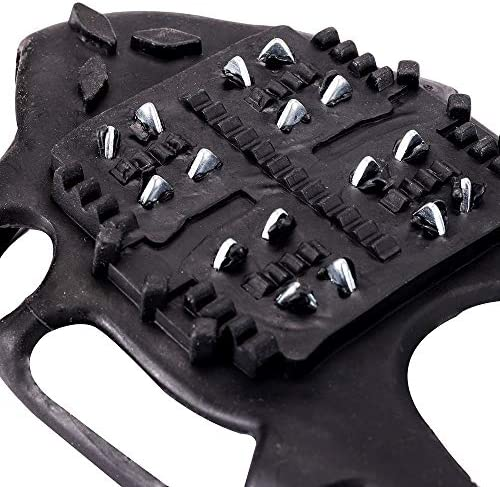 Wistar Ice Snow Grips,Ice & Snow Crampons Traction Cleats for Shoe/Boot IC-20