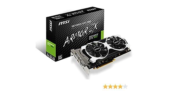 MSI GTX 950 2GD5T OC GeForce GTX 950 2GB GDDR5 - Tarjeta gráfica (GeForce GTX 950, 2 GB, GDDR5, 128 bit, 4096 x 2160 Pixeles, PCI Express x16 3.0)