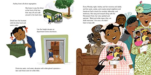 The Youngest Marcher: The Story of Audrey Faye Hendricks, a Young Civil Rights Activist by ATHENEUM (Image #1)