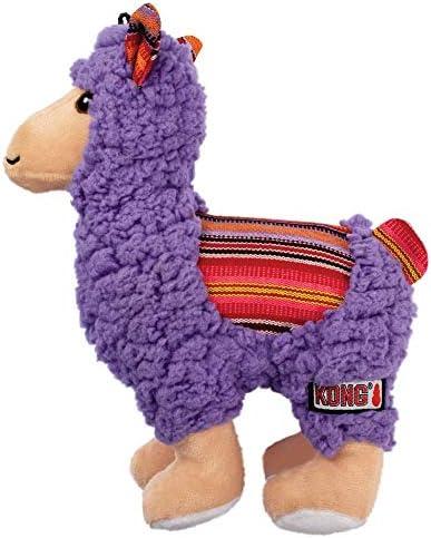 KONG Sherps Llama Medium Dog Toy