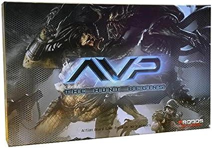 Alien Vs Predator Juego de Mesa The Hunt Begins *Edición Inglés*: Amazon.es: Juguetes y juegos