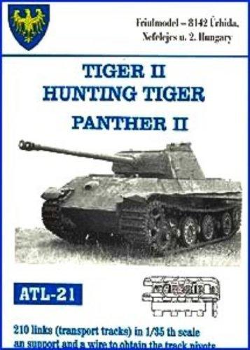 Friulmodel ATL21 1/35 Metal Transport Track for Kingtiger Jagdtiger &  Panther II