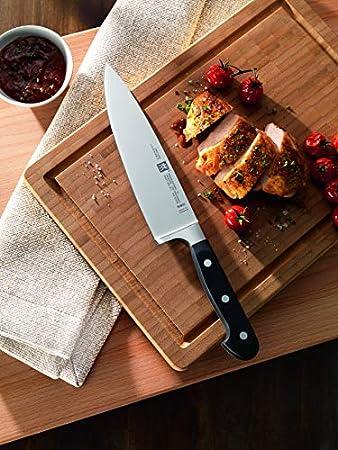 ZWILLING Cuchillo de pan, Longitud de la hoja: 20 cm, hoja dentada, Mango especial de acero