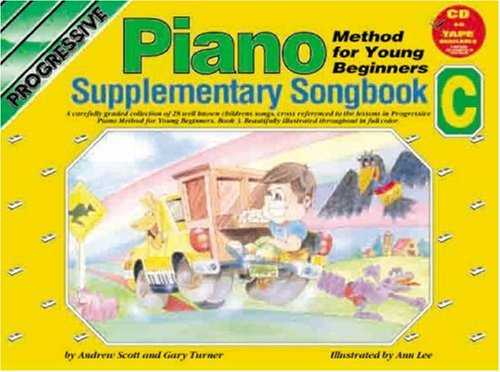 CP18397 - Progressive Piano Method for Young Beginners: Supplimentary Songbook C (Progressive Young Beginners) (Songbook Supplementary)