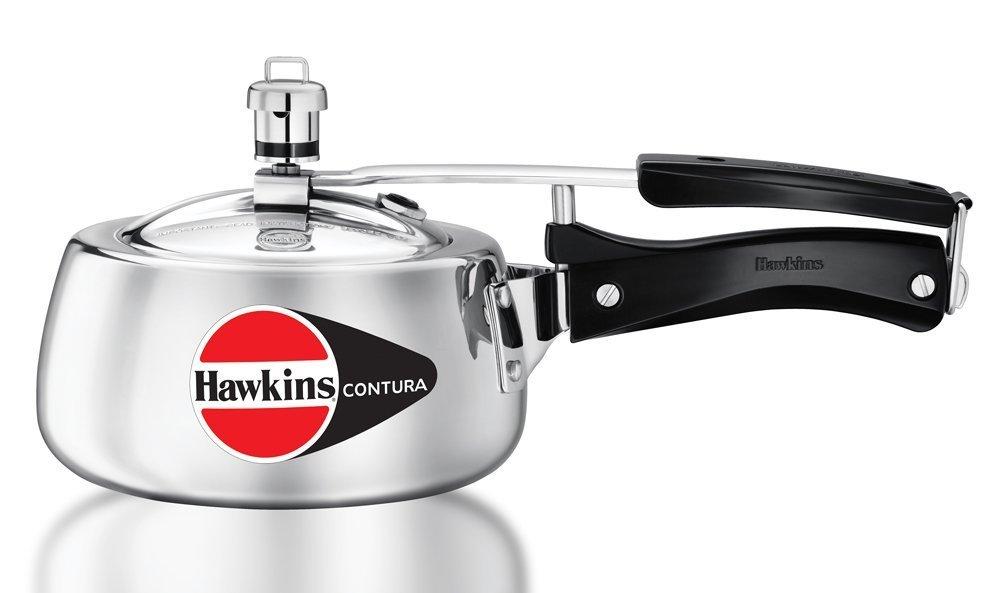 Hawkins M15 Contura Aluminum Pressure Cooker, 1.5-Liter Mercantile International