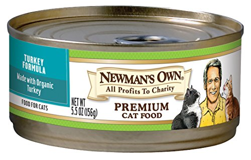 Newmans Own Turkey Formula for Cats 5.5-Ounce Cans (Pack of 24)