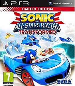 SONIC AND ALL STARS RACING TRANSFORMED (PS3)