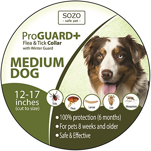 flea-tick-collar-medium-dog-proguard-plus-ii-safe-pet-protection-from-pest-bites-infestations-larvae