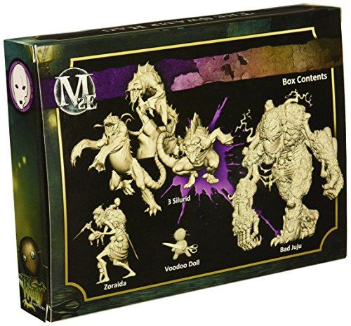 Wyrd Miniatures Malifaux Neverborn Zoraida Swamp Hag Model Kit 4