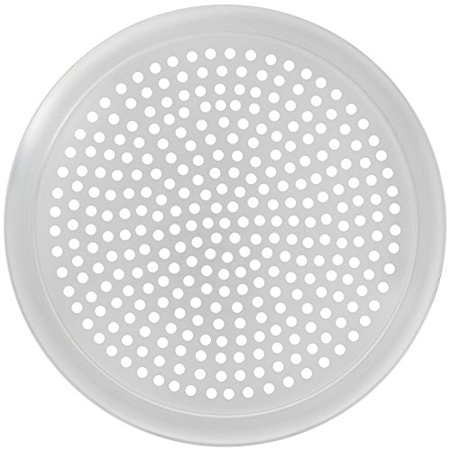 Round Pizza Screens - HUBERT Pizza Screen Perforated Aluminum - 16