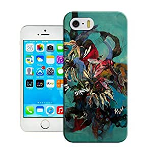 LarryToliver Cellphone iphone 5/5s Case with Customizable Graffiti Background