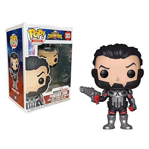 Figura Pop Marvel Contest of Champions Punisher 2099 Exclusive