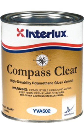 Interlux YVA502/QT Compass Clear - Quart (Clear Coat Marine)