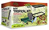 Zilla 01313 10-Gallon Basic Tropical Kit, 10-Inch by 20-Inch by 12-Inch