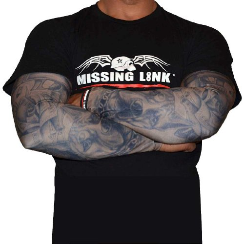 Missing Link SPF 50 Gunz N Money ArmPro (Tan/Black, Large)