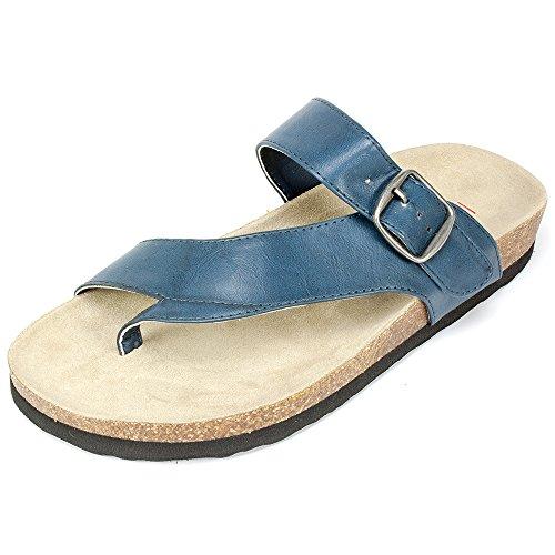 Rialto Shoes 'FARLEY' Women's Sandal, Navy - 8 M