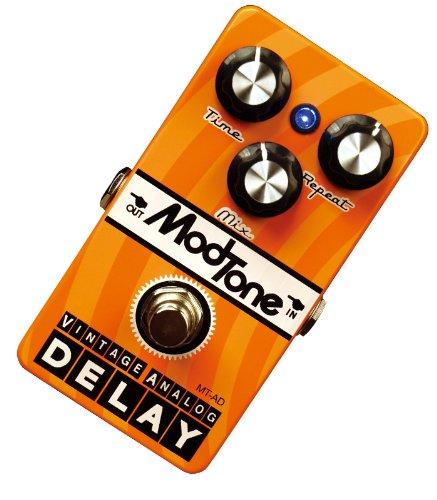 ModTone ( モッドトーン )  MT-AD / Vintage Analog Delay ヴィンテージアナログディレイ/ディレイ ヴィンテージペダルをノイズレスで再現 トゥルーバイパス仕様 B00DQU19SI