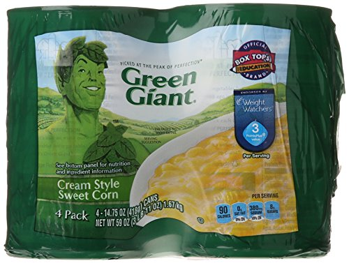 Green Giant Vegetable Cans, Cream Style Sweet Corn, 59 Ounce