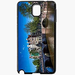 Unique Design Fashion Protective Back Cover For Samsung Galaxy Note 3 Case Amsterdam Netherlands Black