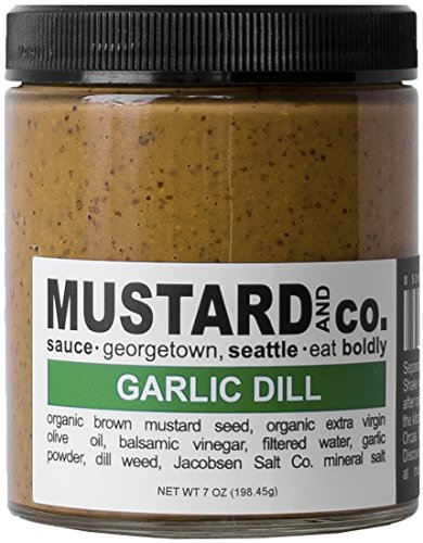 Garlic Mustard (Mustard and Co. - Garlic Dill - 7oz Jar)