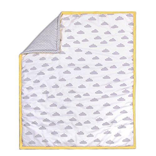 crib quilt gray - 7