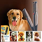 Pets Empire Electric Pet Dog Cat Grooming Comb Hair Trimmer Knot Out Tangles Tool Brushes Supplies-1 Piece Color May Vary