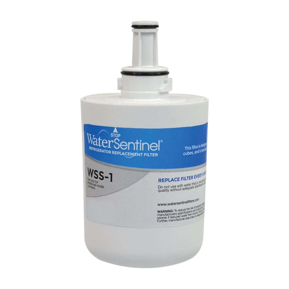 WaterSentinel WSS-1 Made in USA Refrigerator Replacement Filter: Fits Samsung HAF-CU1 Filters