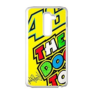 LG G2 Cell Phone Case White Valentino Rossi SUX_052173
