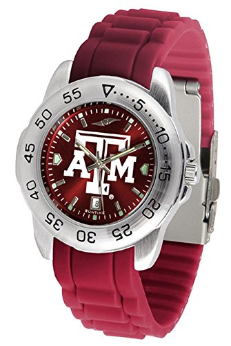 (Texas A&M Aggies Sport Silicone Men's Watch)