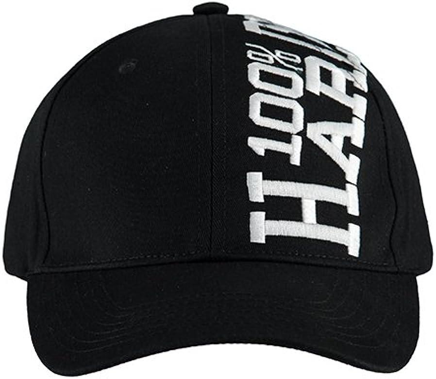 100% Hardcore - Gorra de béisbol - para hombre Negro negro y ...