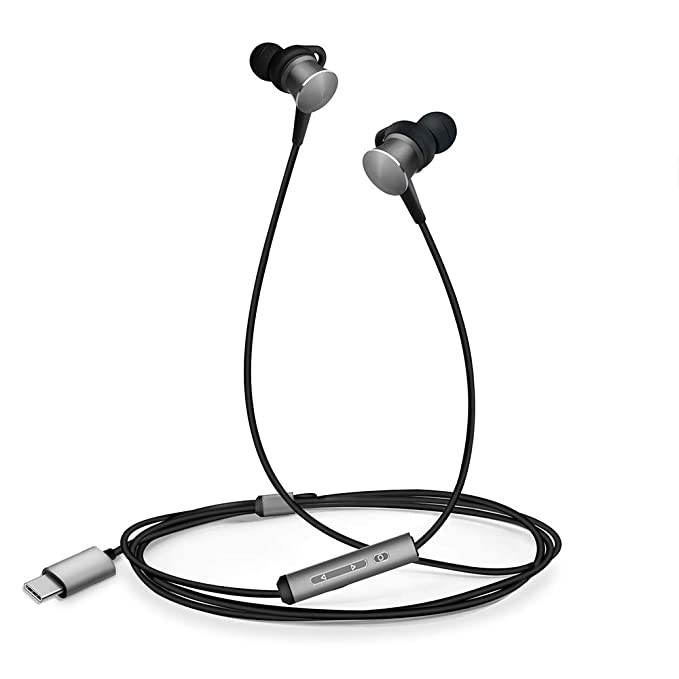 Amazon Com Type C Headphones Ecoker Hi Fi Digital Stereo Earbuds In