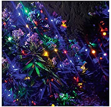 Stay Off The Roof Super Bright Mesh Led Christmas Net Lights Set Multicolored 150 Piece 6 Ft X 4 Ft Lighted Length For Outdoor Bushes And