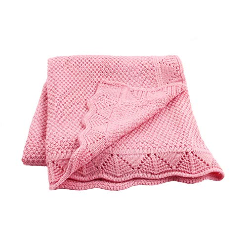 Baby Blanket Knitted Toddler Bla...