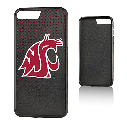Keyscaper KBMP7X-0WST-DOTS01 Washington State Cougars iPhone 8 Plus / 7 Plus Bump Case WSU Dots ()