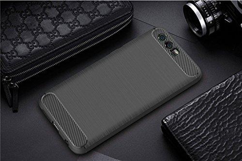 Funda Huawei Honor 9,Funda Fibra de carbono Alta Calidad Anti-Rasguño y Resistente Huellas Dactilares Totalmente Protectora Caso de Cuero Cover Case Adecuado para el Huawei Honor 9 A