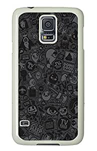 Samsung Galaxy S5 Halloween Ghost Cartoon PC Custom Samsung Galaxy S5 Case Cover White