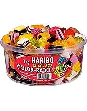 Haribo Color Rado, Caramelle Gommose alla Frutta, Dolci, Barattolo da 1000g