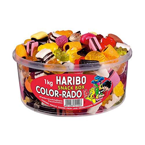 14 opinioni per Haribo Color Rado, Caramelle Gommose alla Frutta, Dolci, Barattolo da 1000g