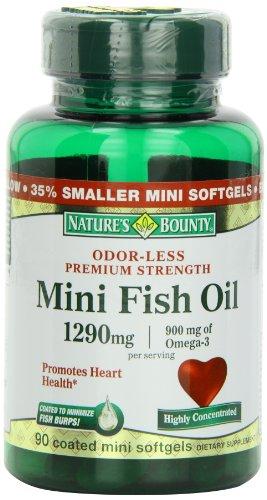 Nature's Bounty Mini Fish Oil, 90 Count, Health Care Stuffs