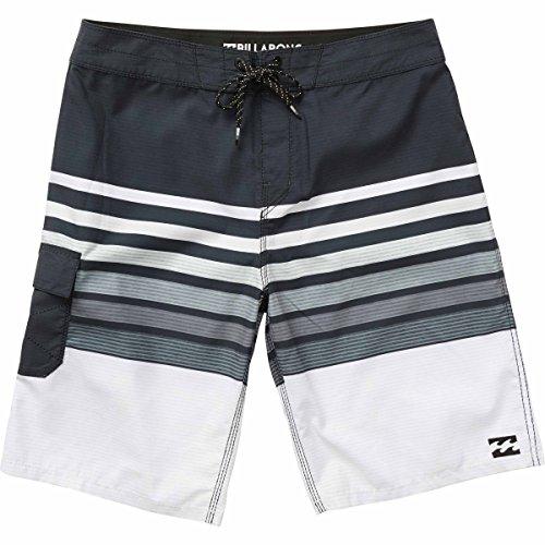 Billabong Boardshorts - Billabong Men's All Day OG Stripe Boardshort, Black, 33