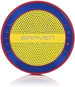 BRAVEN Mira Portable Wireless Bluetooth Speaker [12 Hours][Waterproof] Built-in 1200 mAh