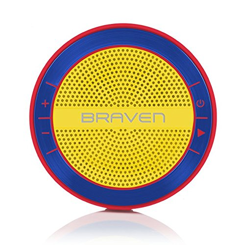 BRAVEN MIRA Bluetooth Speaker Yellow/Blue/Red BMRARUY